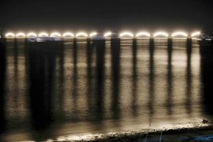 Samaná Bahía Puente por Noche 3