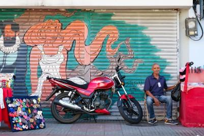 Santo Domingo Moto con Viejito