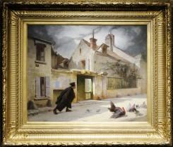 Thomas Couture - Se rendant à l'audience 1867