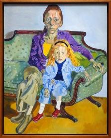 MFA Alice Neel - Linda Nochlin and Daisy
