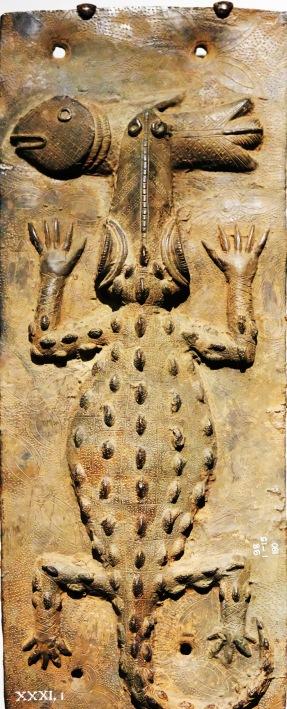 MFA Benin Bronze Crocodile
