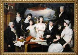 MFA Benjamin West - The Hope Family