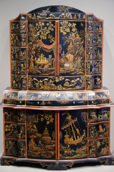 MFA Imitation Lacquer Cabinet 1