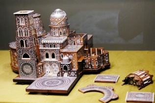 MFA Model of the Church of the Holy Sepulcher 1