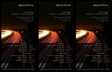 departure final programme