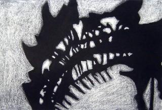 dinosaurnegativespace