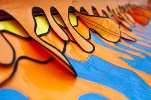 Orange flaps