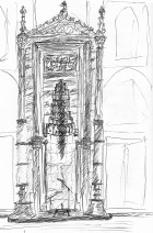 sehzade mihrab grayscale
