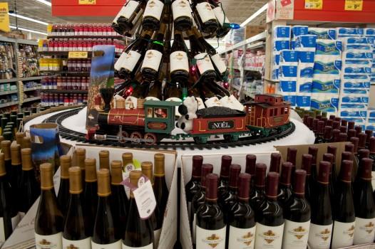 15 zebra wine train
