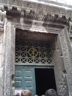 Dicoletian's Palace - Temple of Jupiter Facade