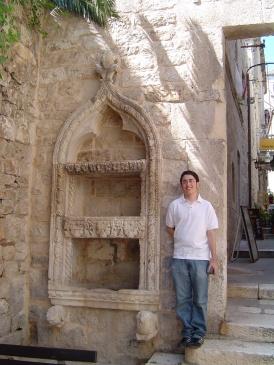 Hektorovic Mansion - Gabe with Fountain