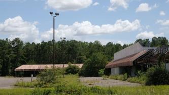 Abandoned Strip Mall