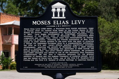 Moses Elias Levy Sign